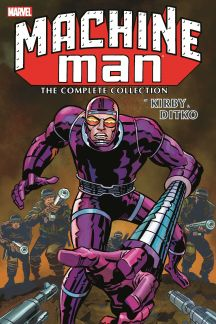 Machine Man by Kirby & Ditko: The Complete Collection (Trade Paperback)