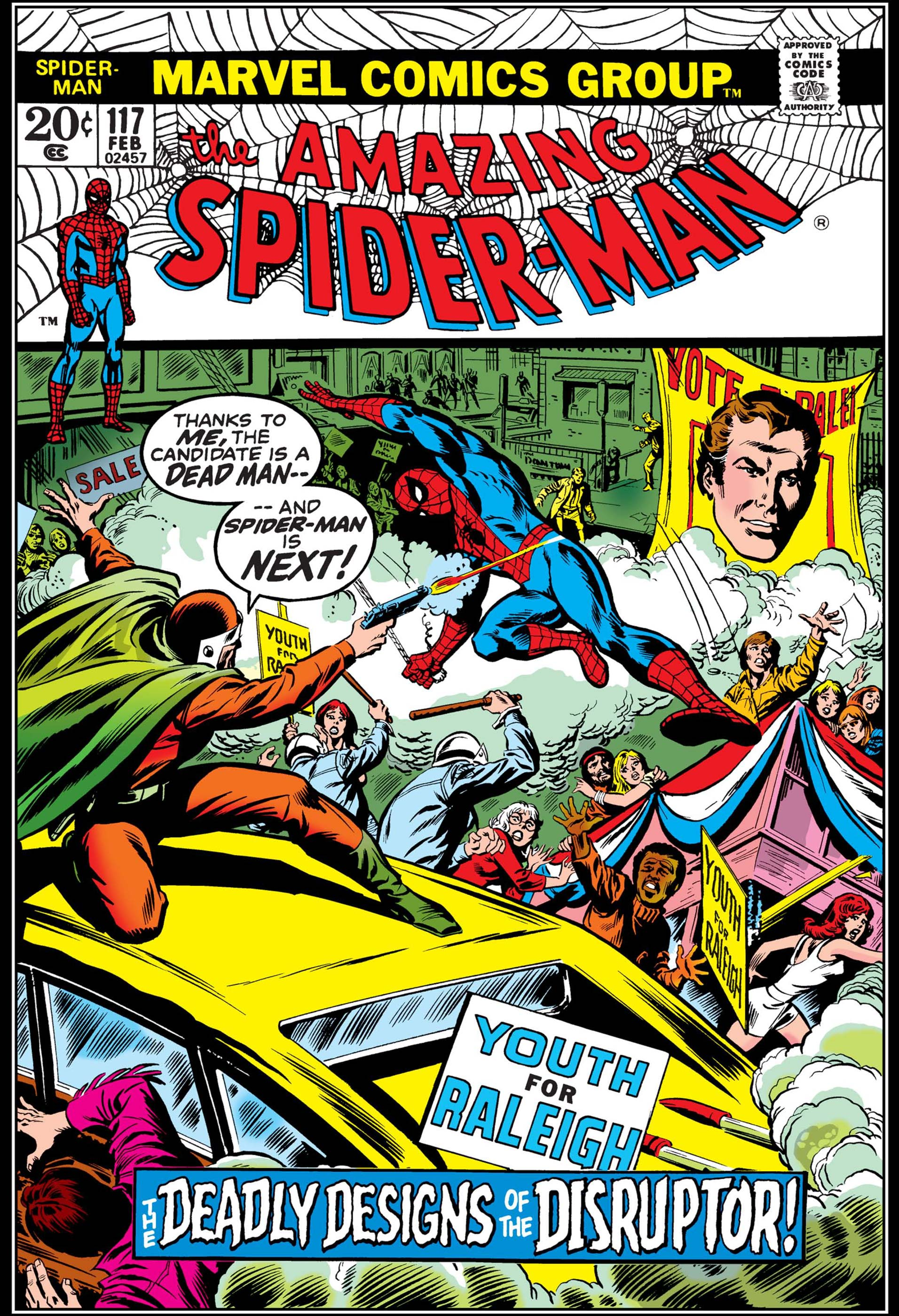 The Amazing Spider-Man (1963) #117
