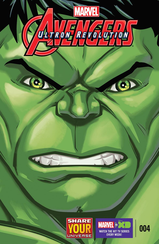 Marvel Universe Avengers: Ultron Revolution (2016) #4