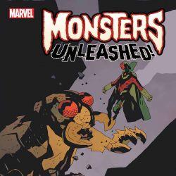 Monster vs. Marvel Hero Variant by Mike Mignola