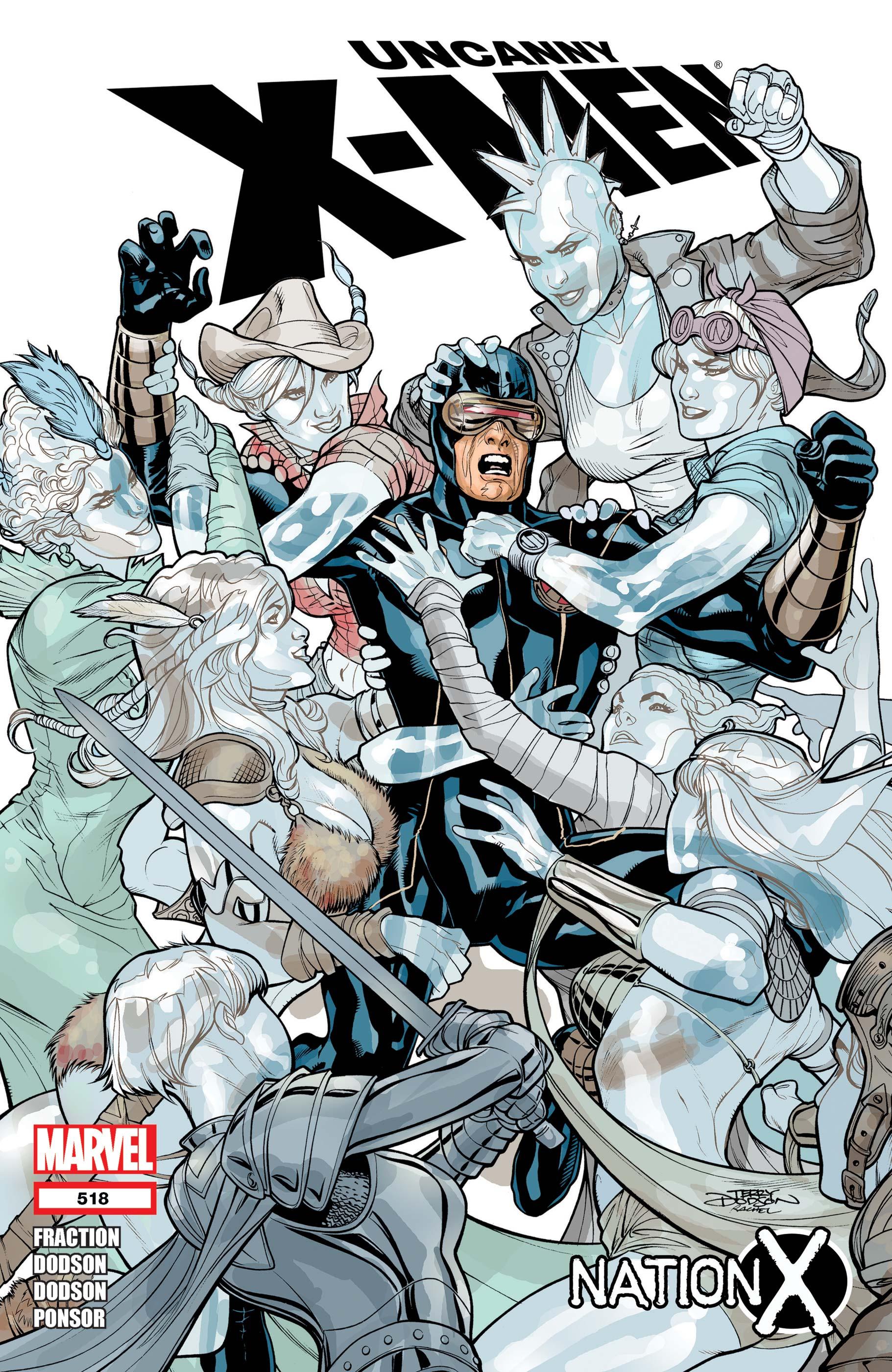 Uncanny X-Men (1963) #518