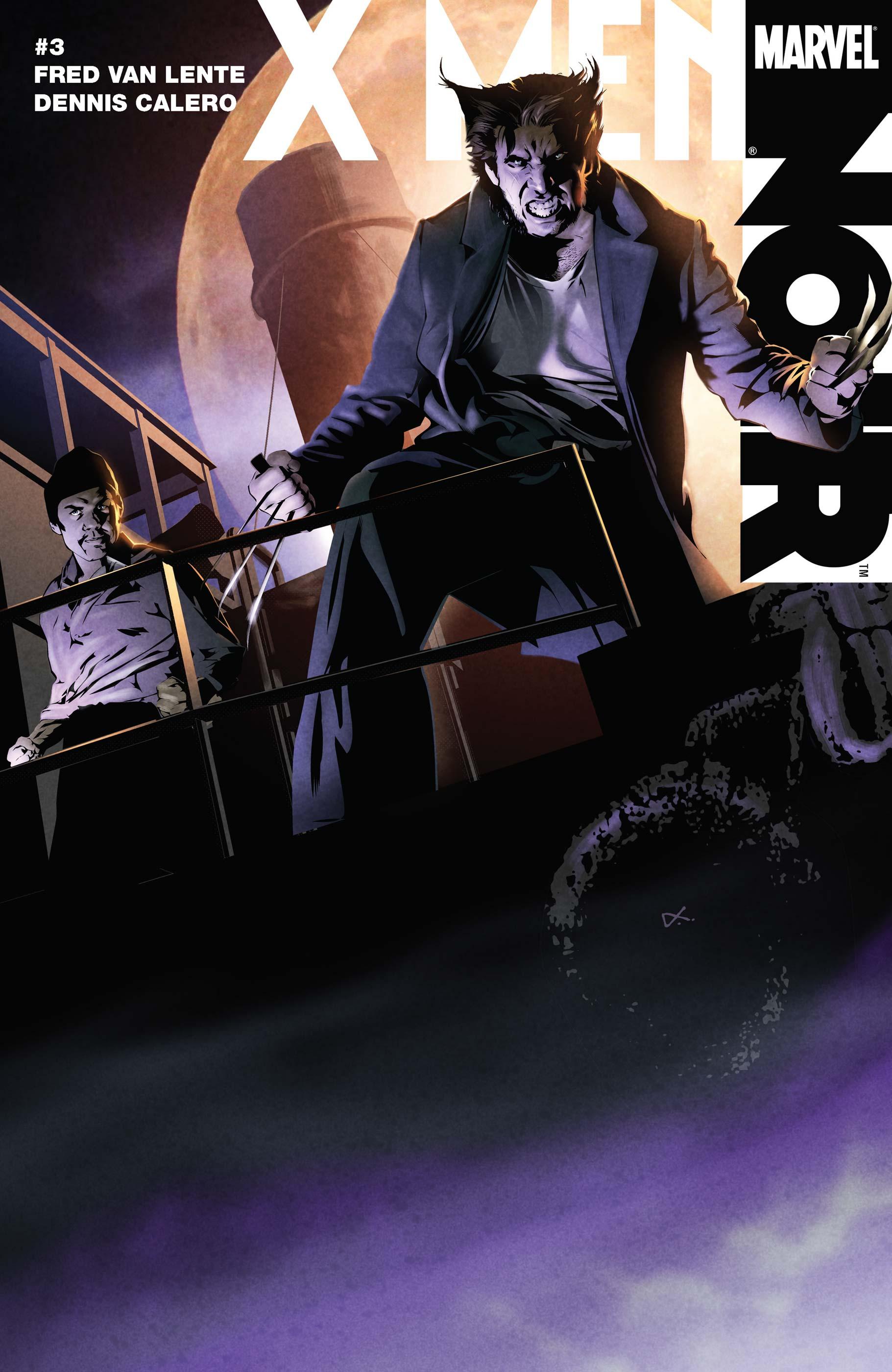 X Men Noir (2008) #3