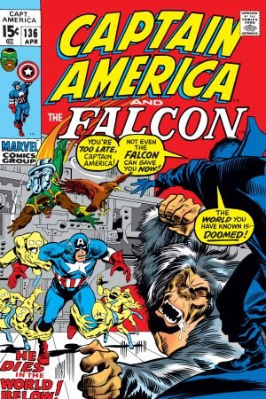 Captain America (1968) #136