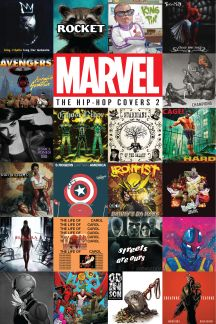 Marvel: The Hip-Hop Covers Vol. 2 (Hardcover)