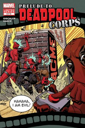 Prelude to Deadpool Corps (2010) #5