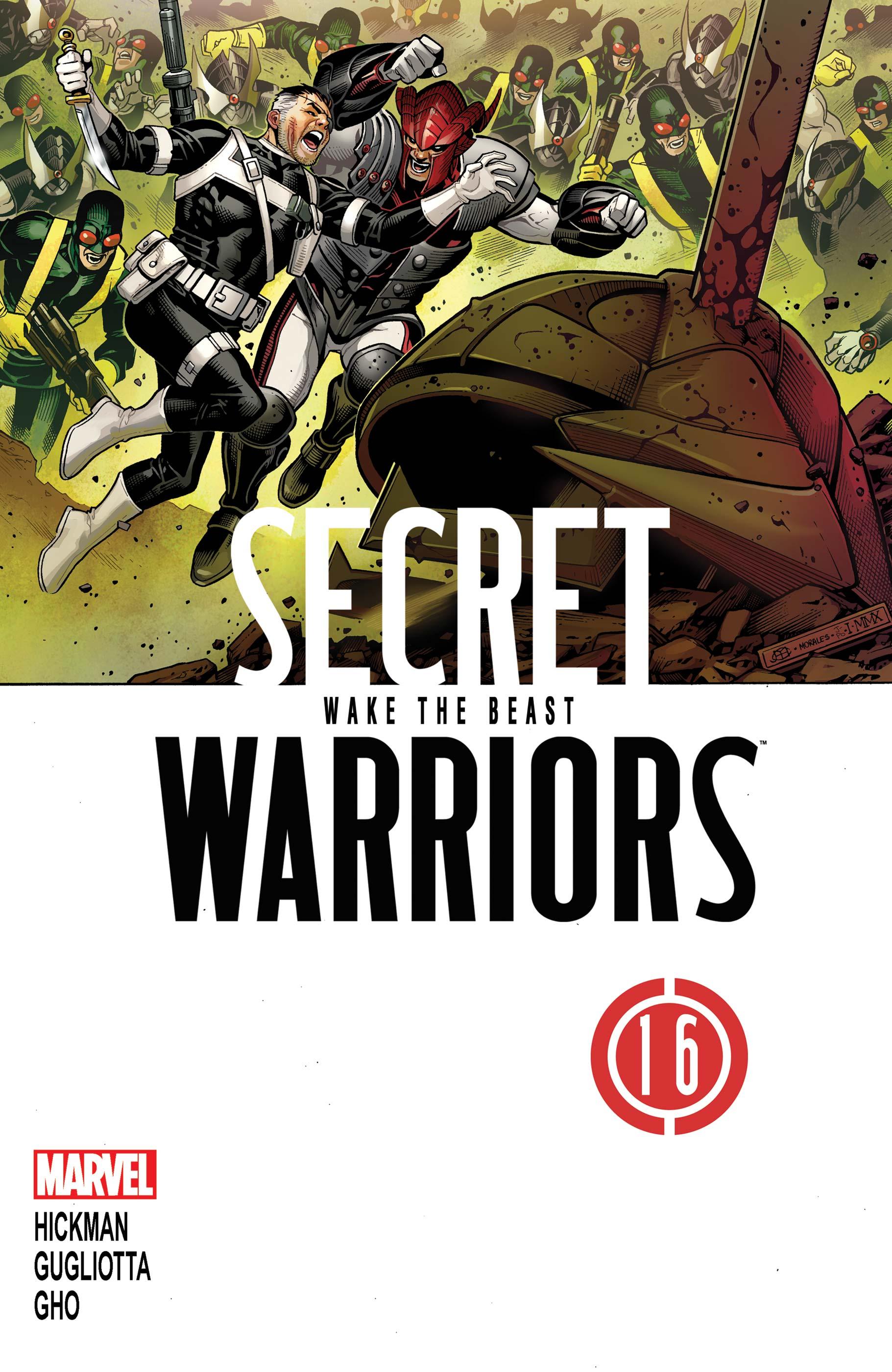 Secret Warriors (2009) #16