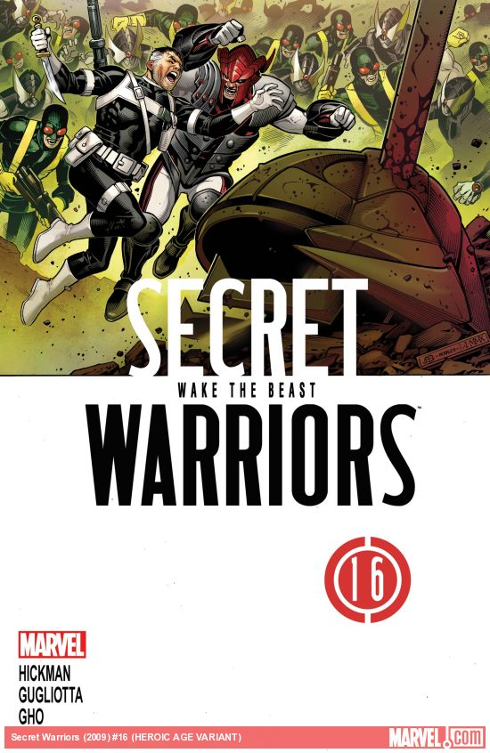 Secret Warriors (2009) #16