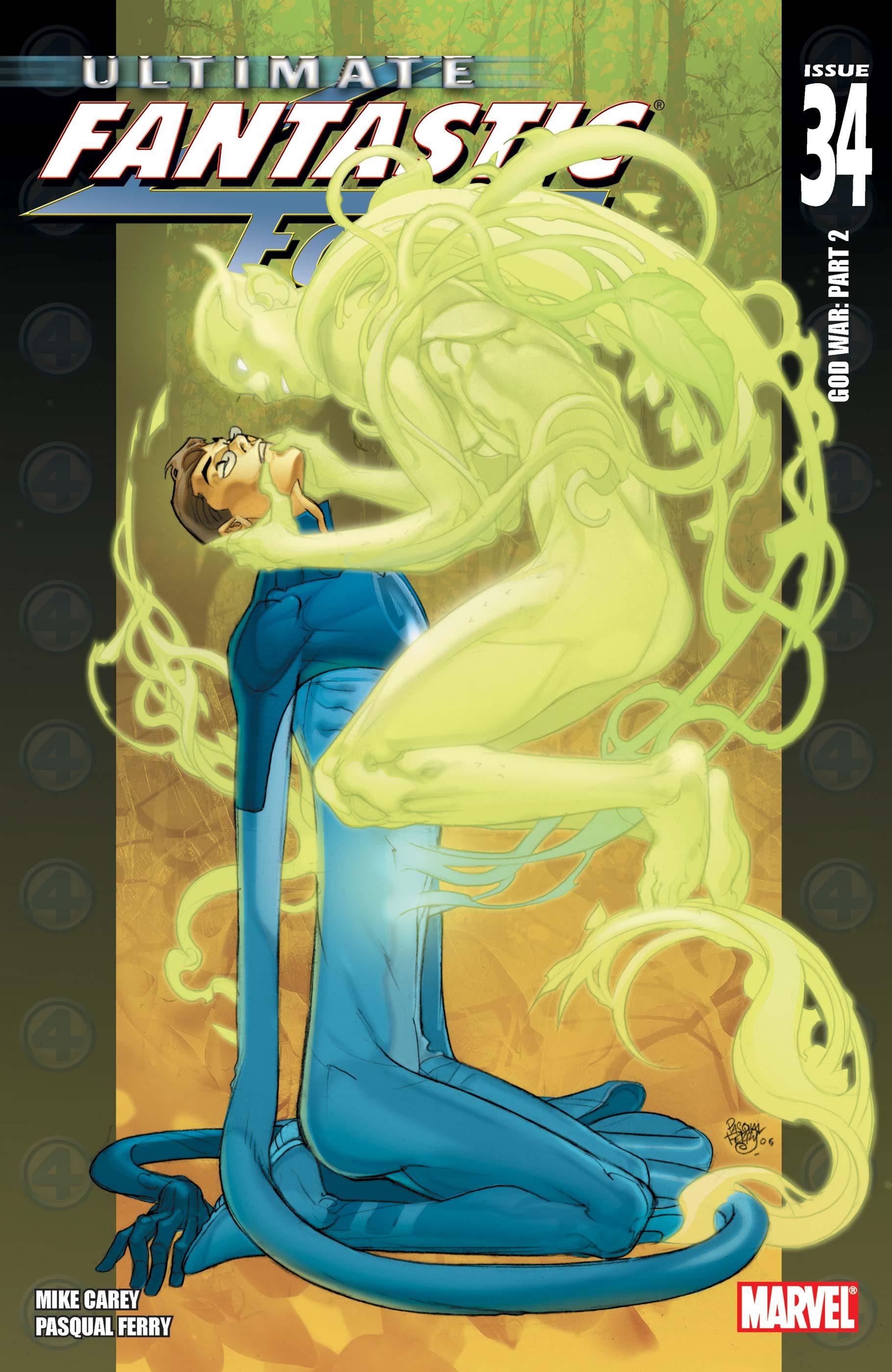 Ultimate Fantastic Four (2003) #34