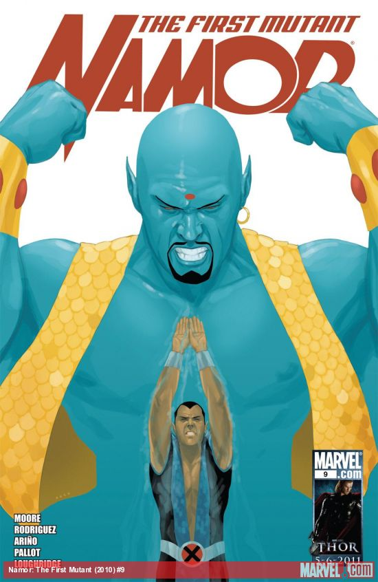Namor: The First Mutant (2010) #9