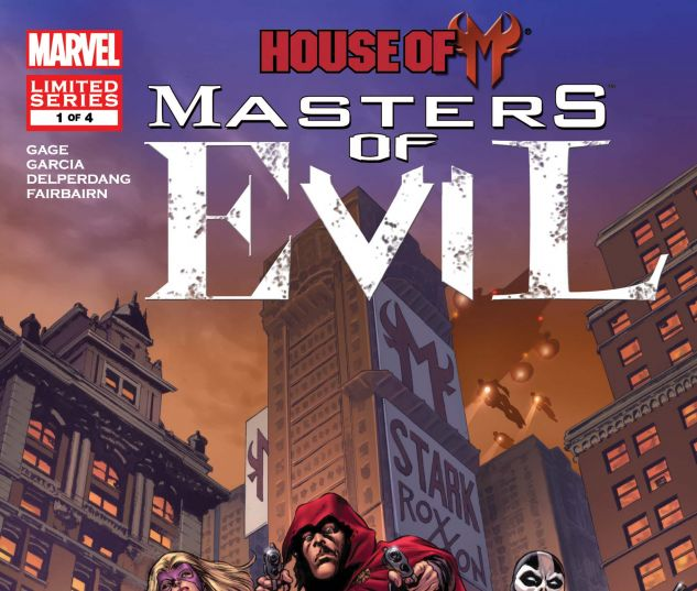 HOUSE OF M: MASTERS OF EVIL (2009) #1