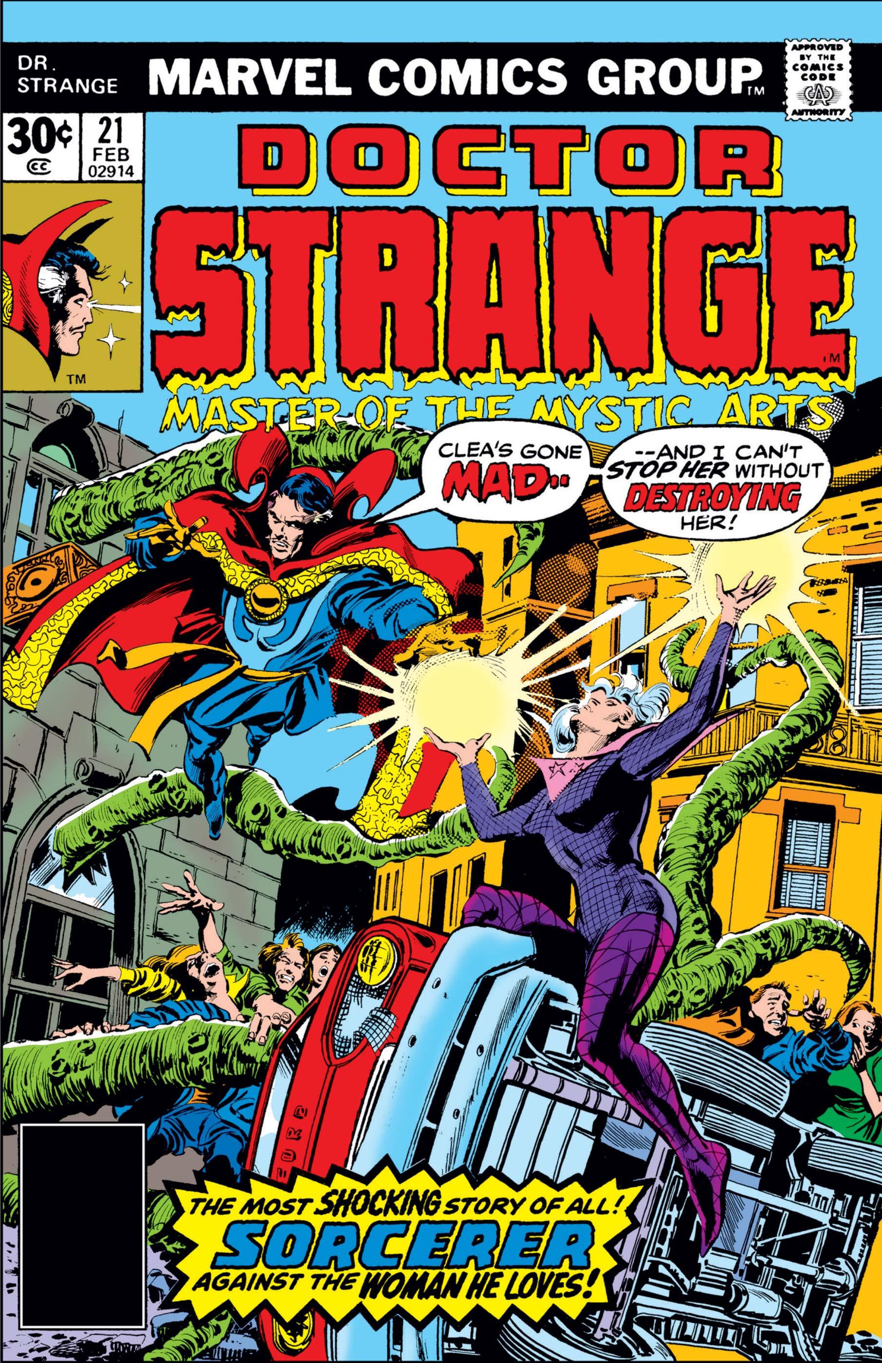 Doctor Strange (1974) #21