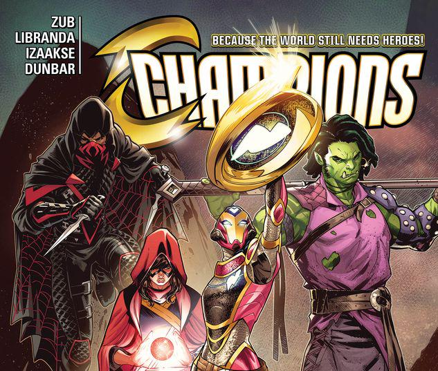 CHAMPIONS VOL. 5: WEIRD WAR ONE TPB #0