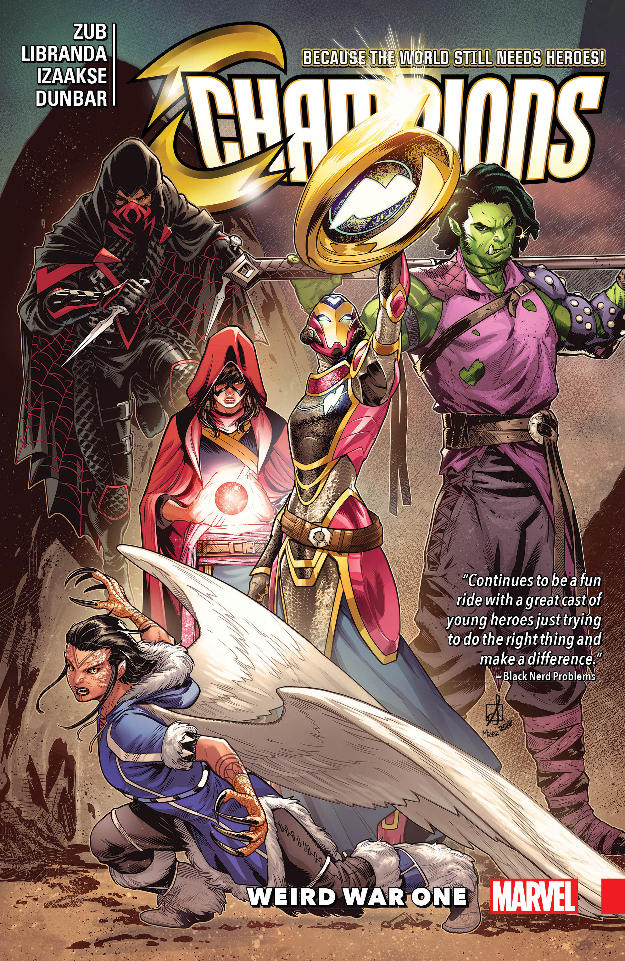 Champions Vol. 5: Weird War One (Trade Paperback)