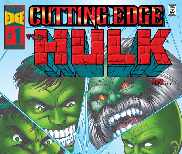 cover from Hulk: Cutting Edge (1995) #1