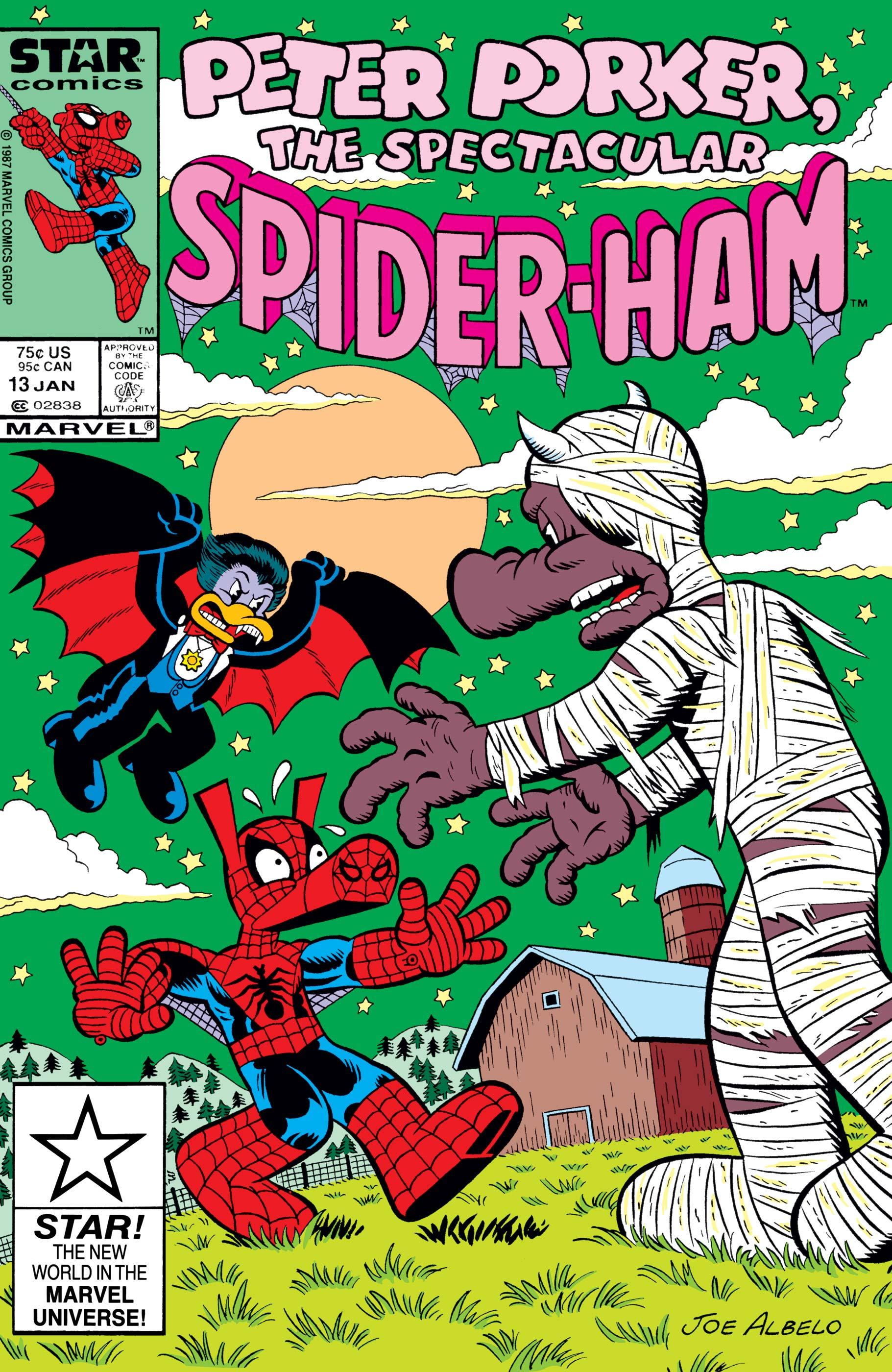 Peter Porker, the Spectacular Spider-Ham (1985) #13