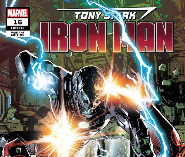 Tony Stark: Iron Man #16