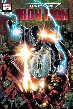 Tony Stark: Iron Man (2018) #16 (Variant)