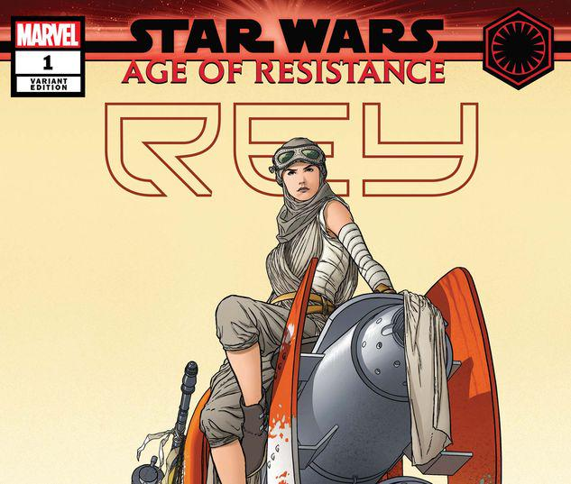 STAR WARS: AGE OF RESISTANCE - REY 1 QUESADA VARIANT #1
