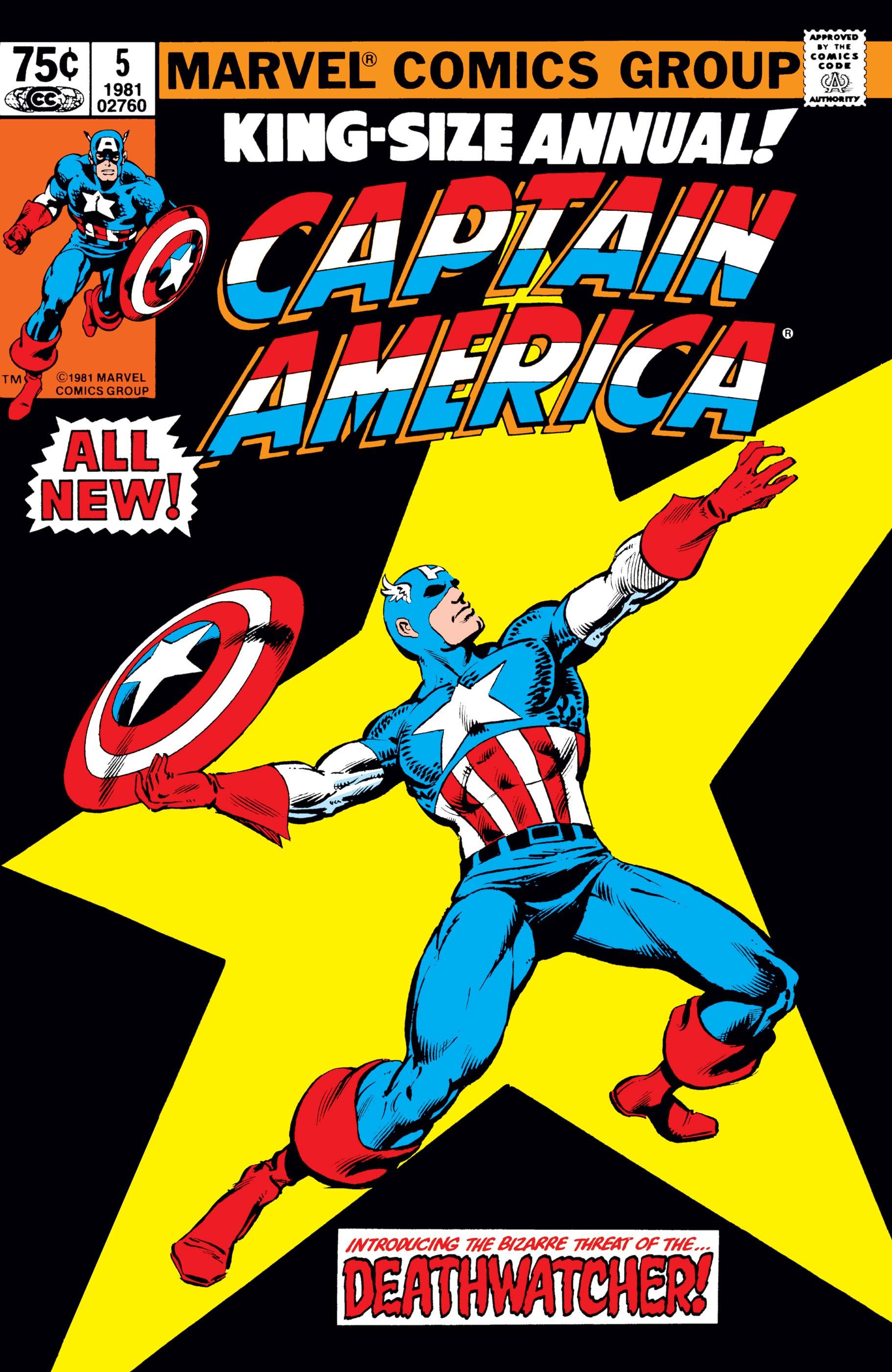 Captain America Annual (1971) #5
