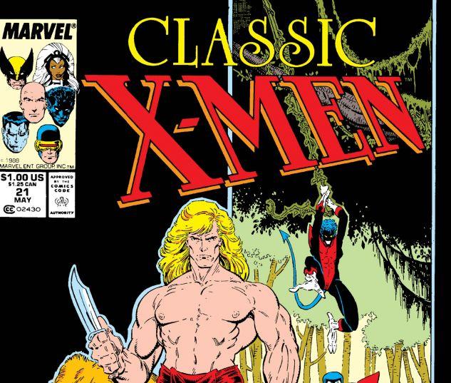 CLASSIC X-MEN (1986) #21