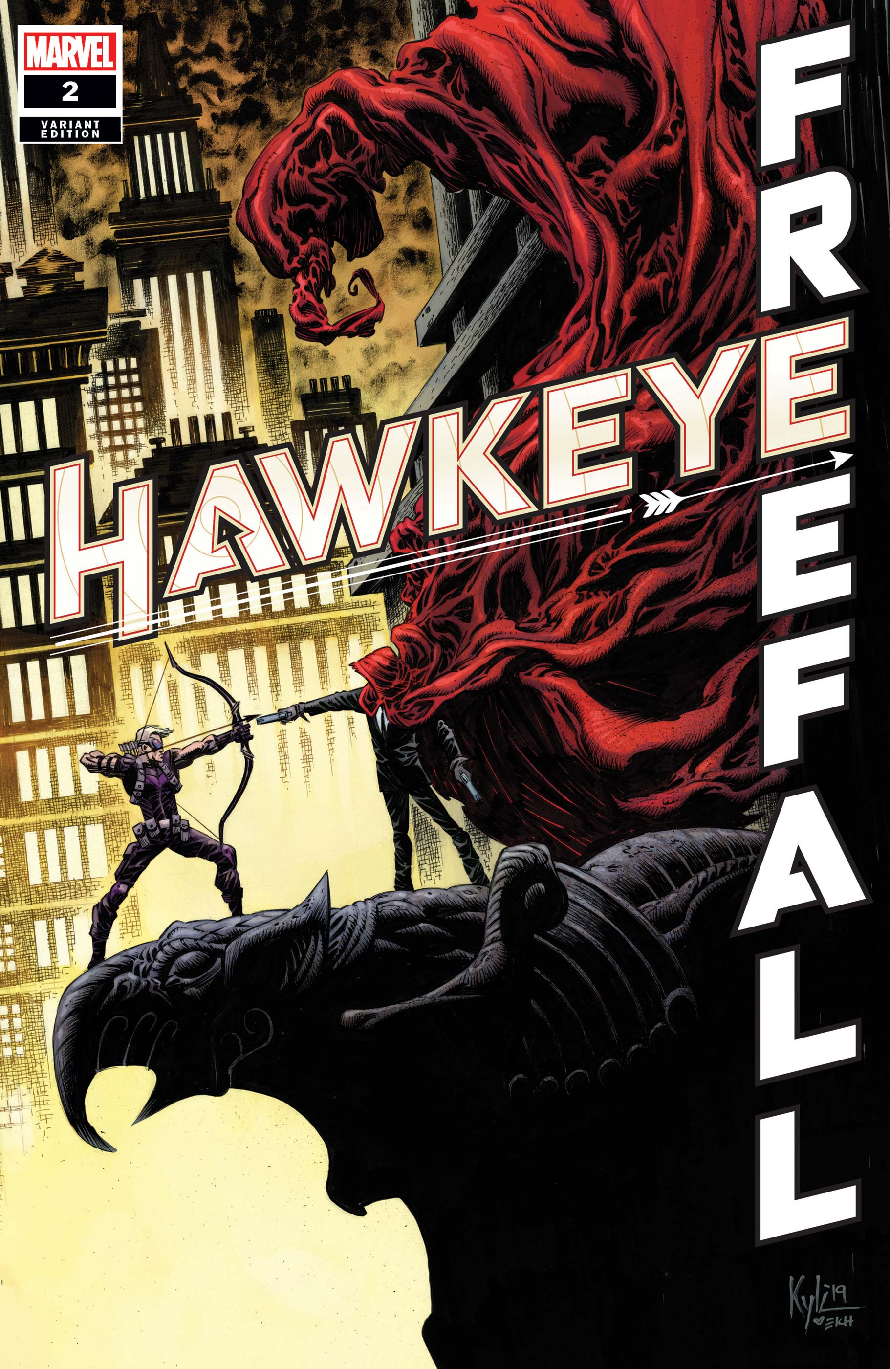 Hawkeye: Freefall (2020) #2 (Variant)