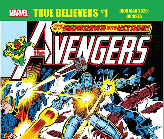 TRUE BELIEVERS: IRON MAN 2020 - JOCASTA 1 #1