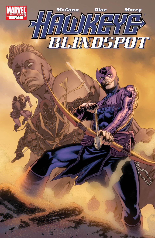 Hawkeye: Blindspot (2011) #4