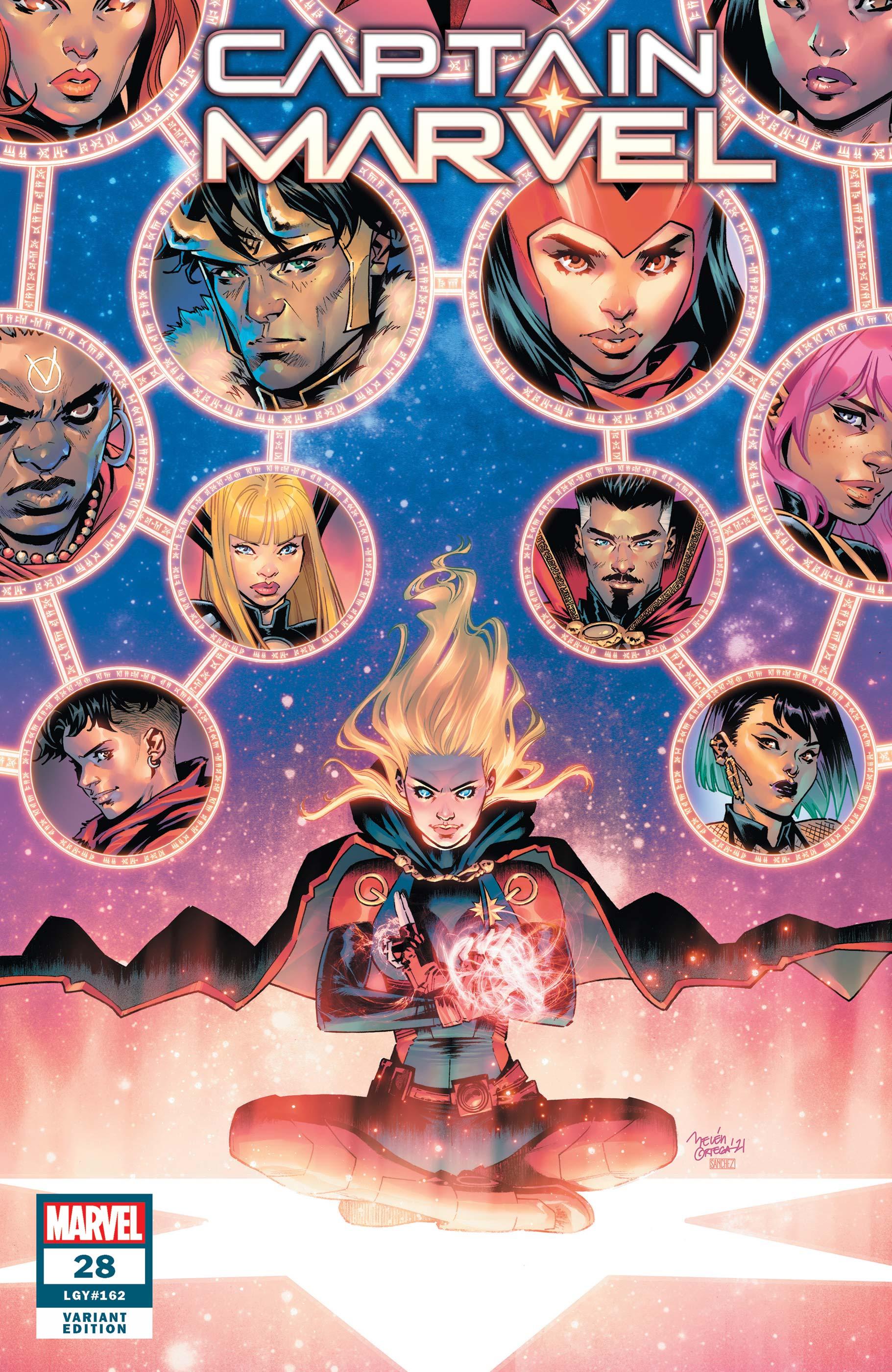 Captain Marvel (2019) #28 (Variant)