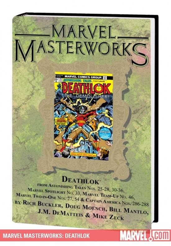 Marvel Masterworks: Deathlok Vol. 1 (Variant) (Hardcover)