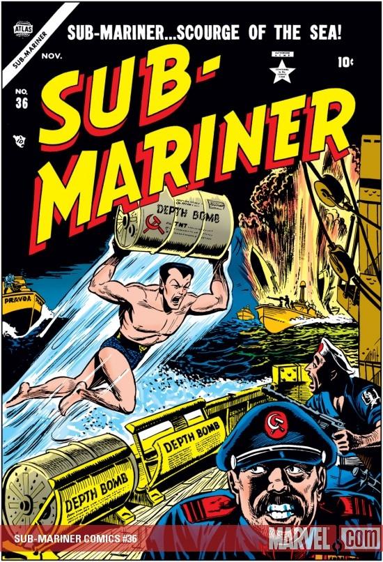 Sub-Mariner Comics (1941) #36