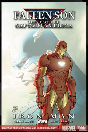 Civil War: Fallen Son - The Death of Captain America #5  (Variant)