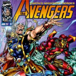 HEROES REBORN: AVENGERS COVER