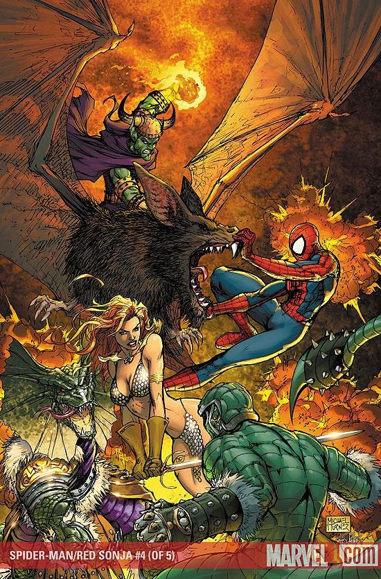 Spider-Man/Red Sonja (2007) #4