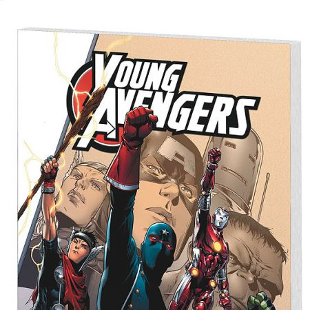 YOUNG AVENGERS VOL. 1: SIDEKICKS COVER