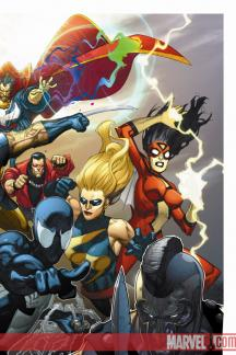 Mighty Avengers #1  (Yu variant)