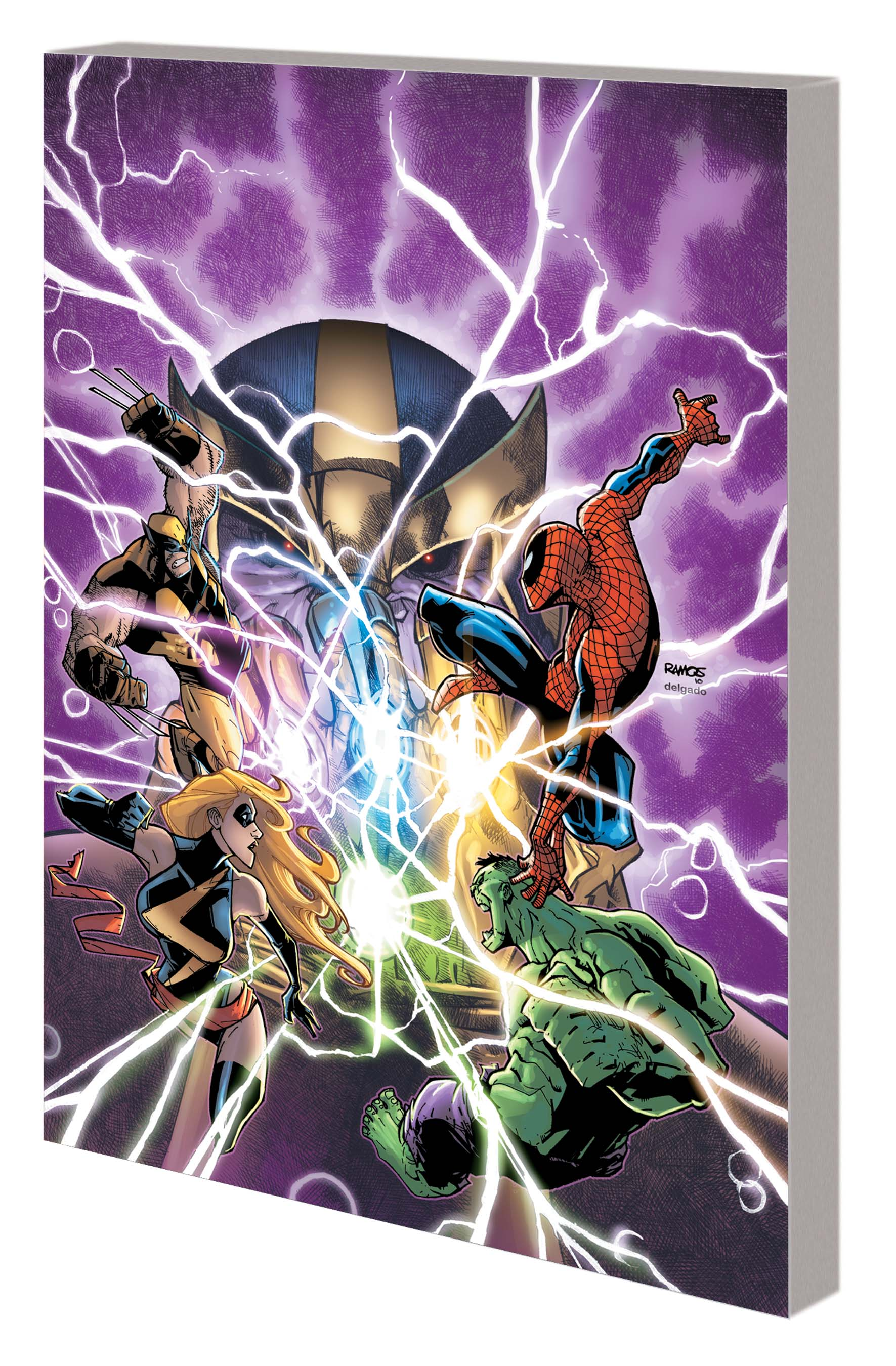 AVENGERS & THE INFINITY GAUNTLET GN-TPB (Trade Paperback)