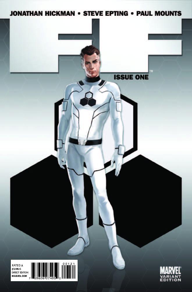 FF (2011) #1 (Djurdjevic Gatefold Variant)