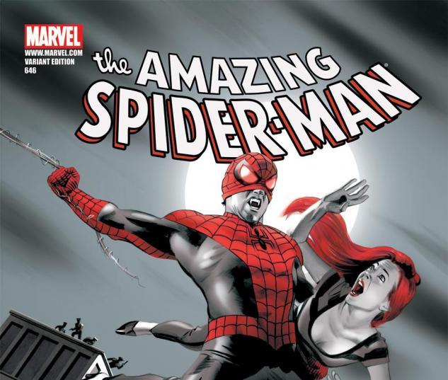 Amazing Spider-Man (1999) #646, VAMPIRE VARIANT