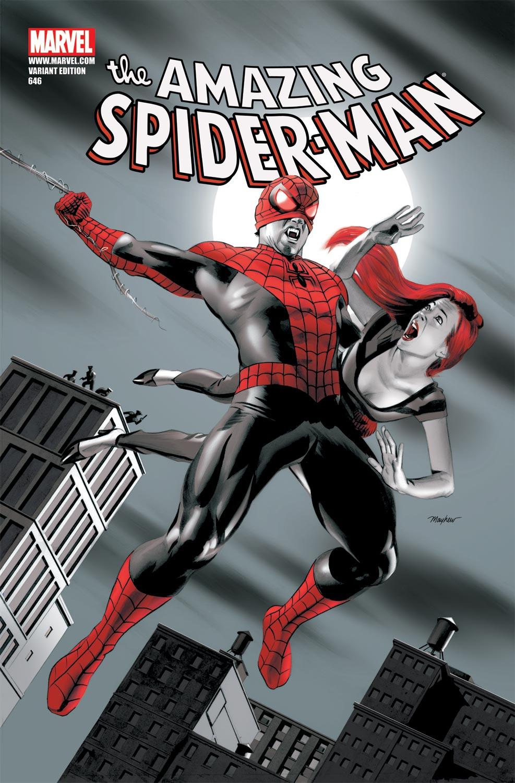Amazing Spider-Man (1999) #646 (VAMPIRE VARIANT)