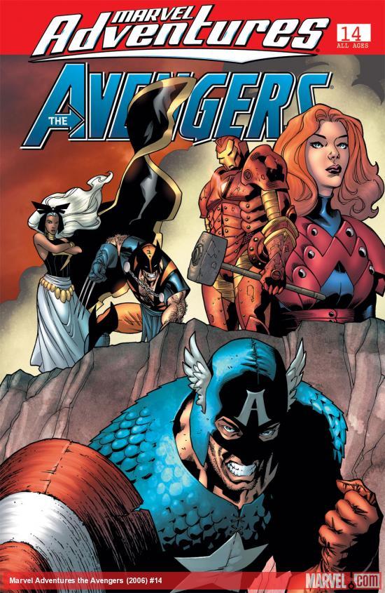 Marvel Adventures the Avengers (2006) #14