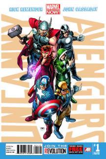 Uncanny Avengers (2012) #1 (2nd Printing Variant)