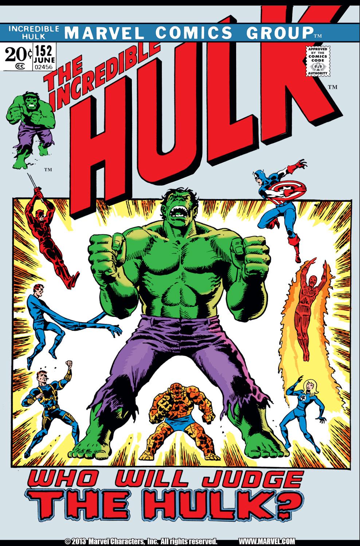Incredible Hulk (1962) #152