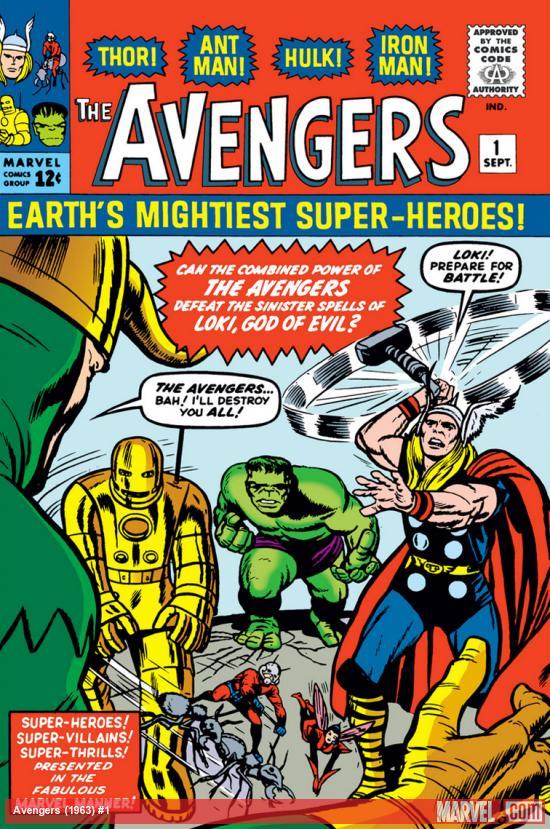 Avengers (1963) #1