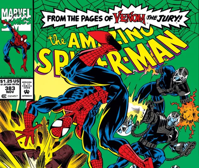Amazing Spider-Man (1963) #383 Cover