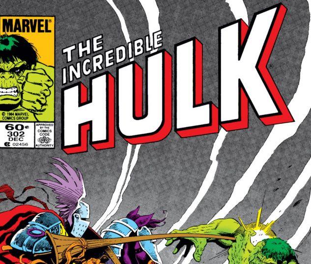 Incredible Hulk (1962) #302 Cover
