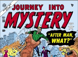 Journey Into Mystery (1952) #20 Cover