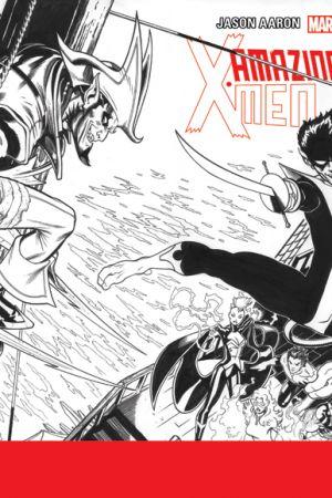 Amazing X-Men (2013) #1 (Mcguinness Wraparound Sketch Variant)