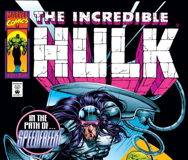 Incredible Hulk (1962) #430 Cover