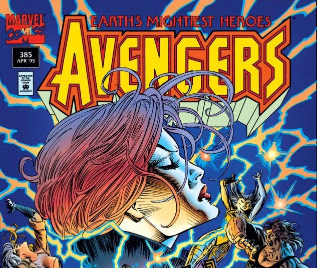 Avengers (1963) #385 Cover