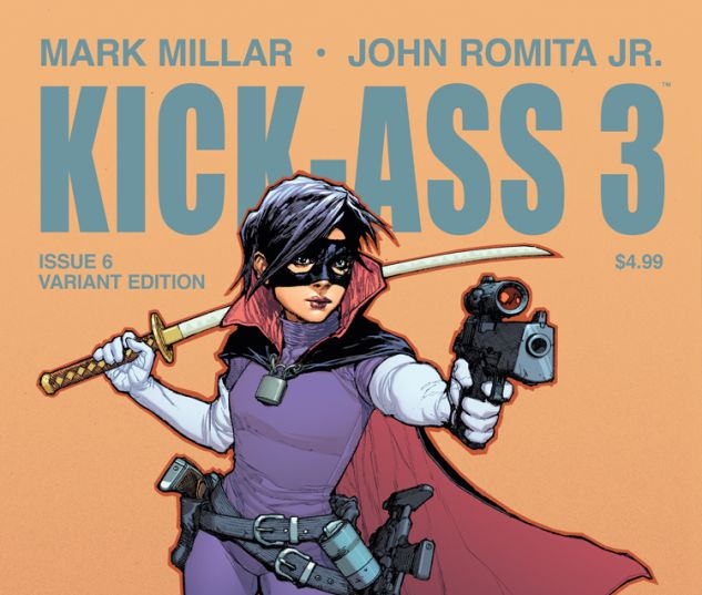 cover from Kick-Ass 3 (2013) #6 (TBD ARTIST VARIANT A)